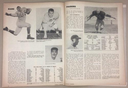 Rams, Packers 1957