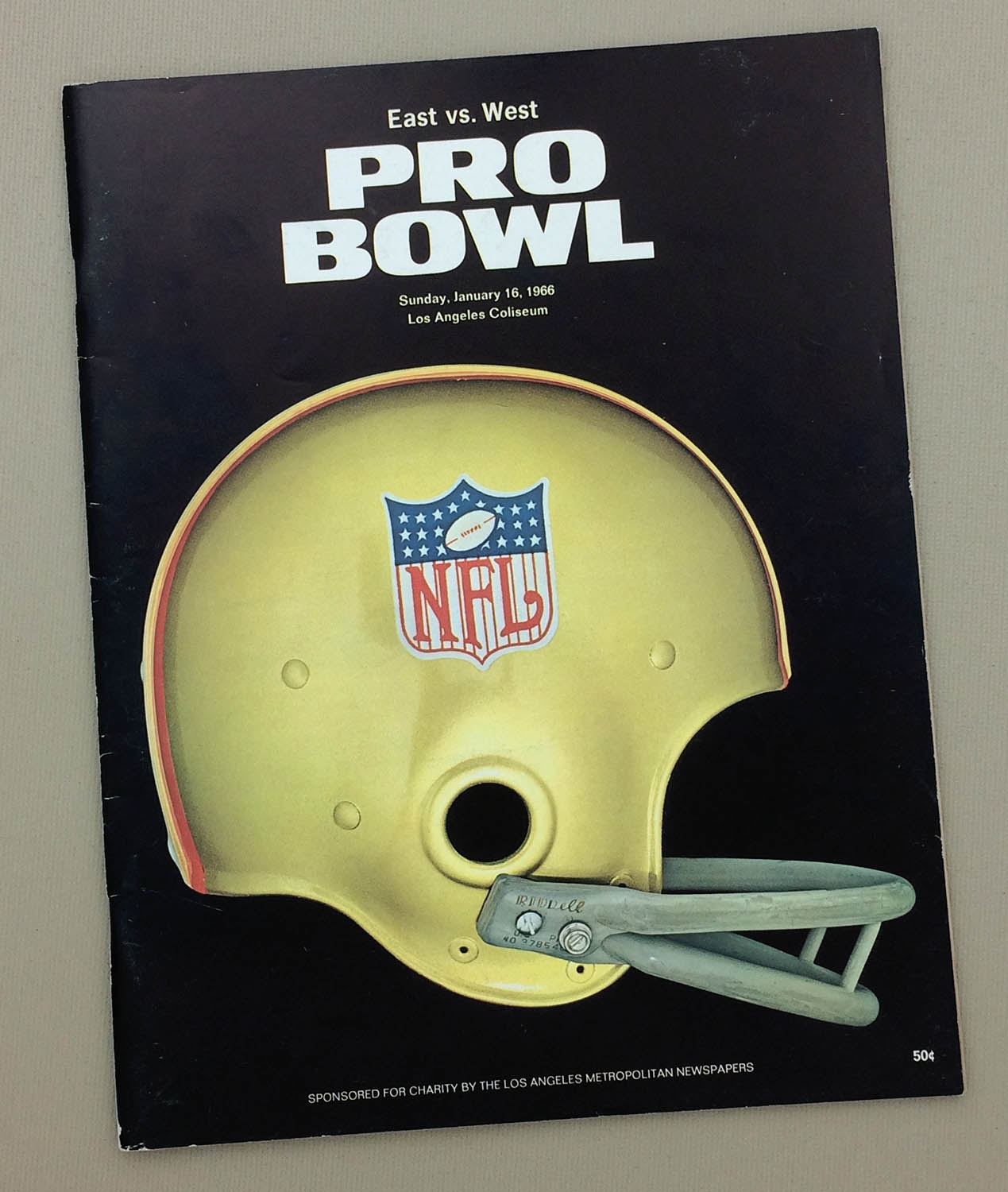 1966 Pro Bowl Program