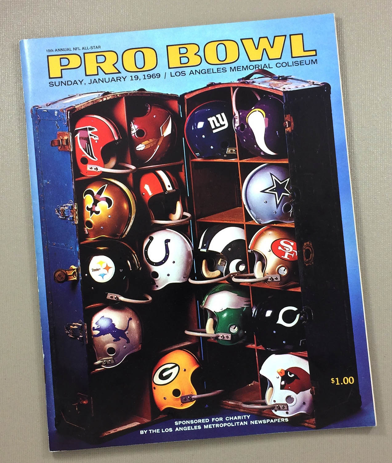 1969 Pro Bowl Program