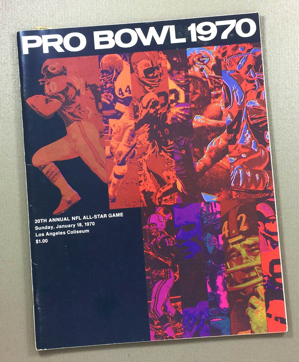 1970 Pro Bowl Program