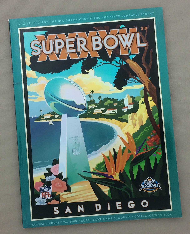 2003 Super Bowl XXXVII Program