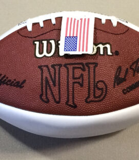 Bill Parcells Autographed Football