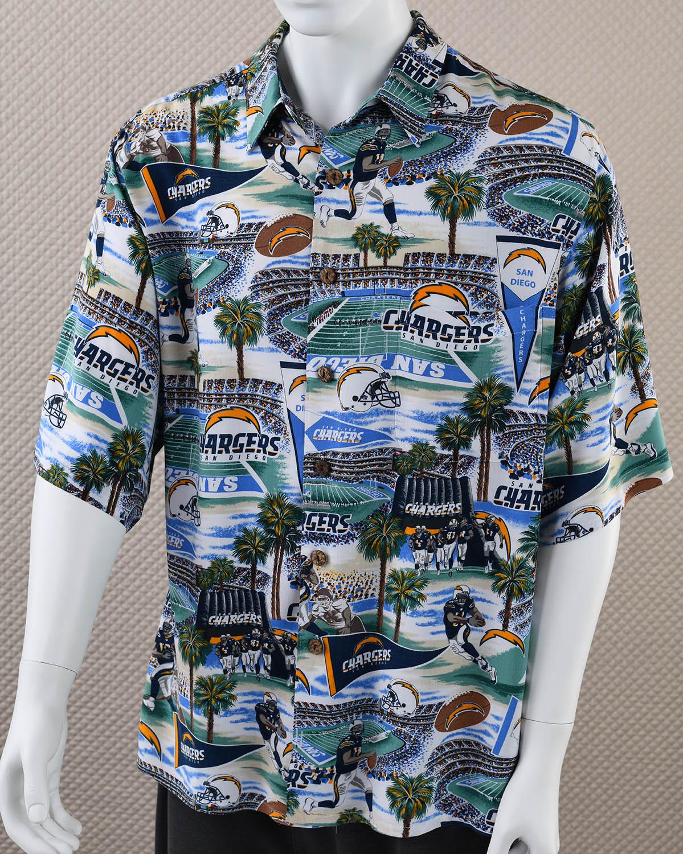 San Diego Chargers Hawaiian Shirt