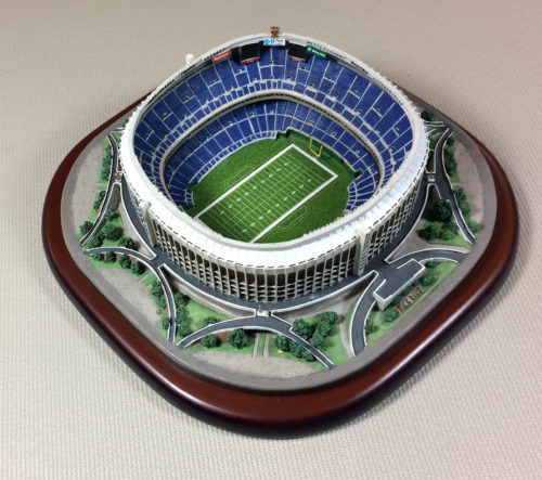 Danbury Mint Veterans Stadium Replica