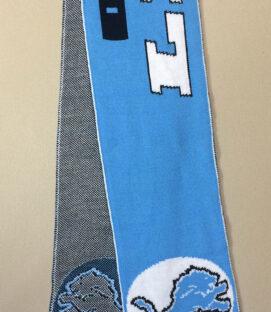 Detroit Lions Football scarf