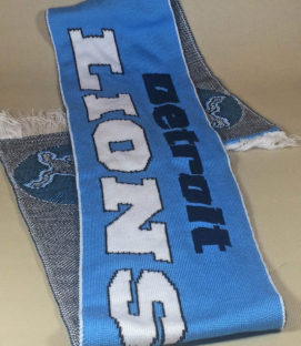 Detroit Lions Football scarf