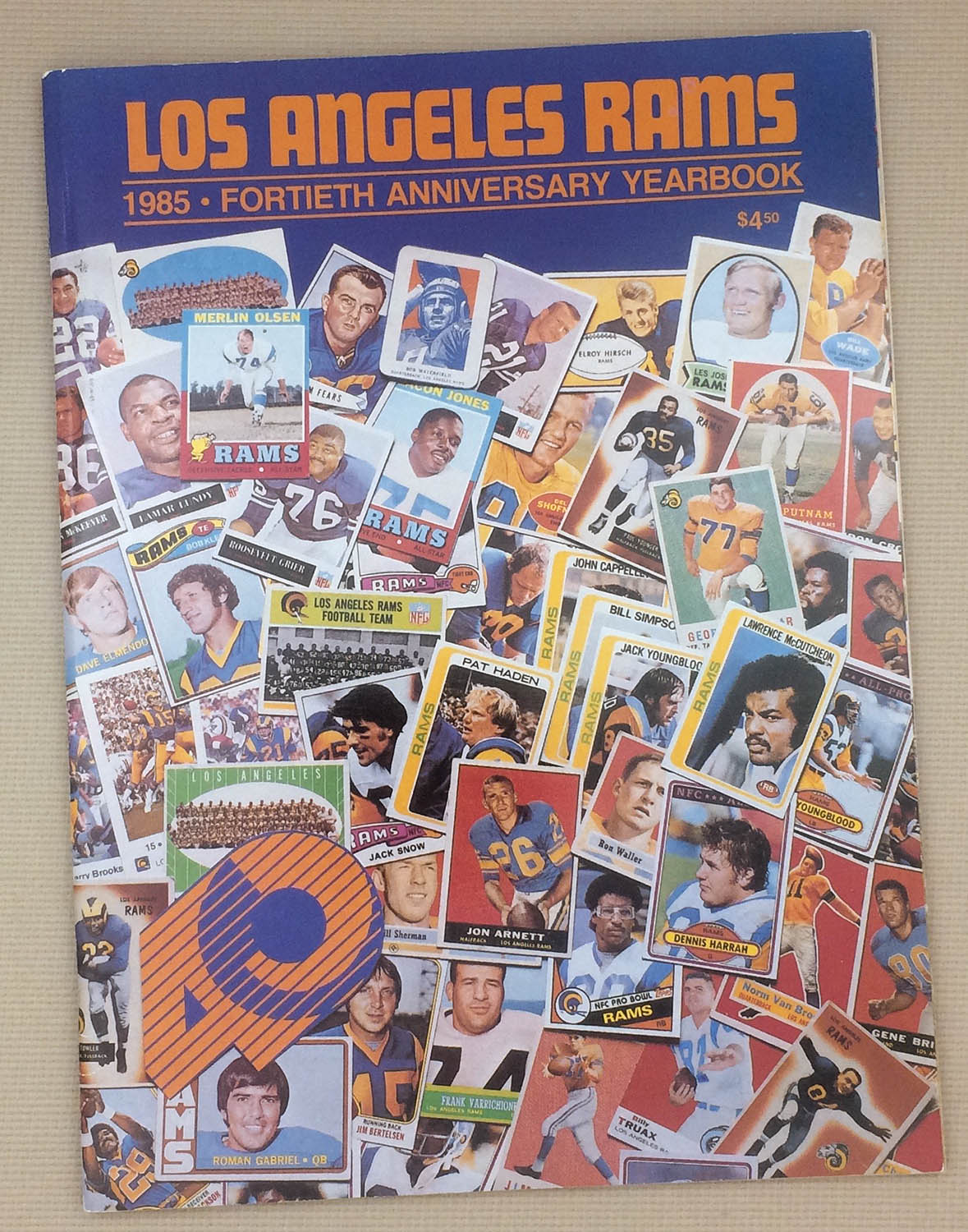 Los Angeles Rams 40th Anniversary Yearbook