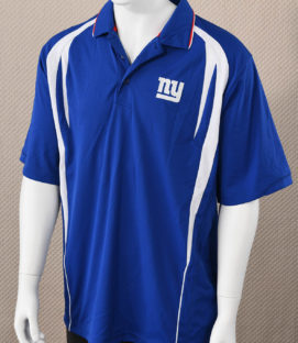 New York Giants Embroidered Polo