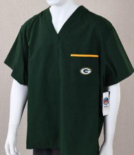 Green Bay Packers Scrubs Shirt