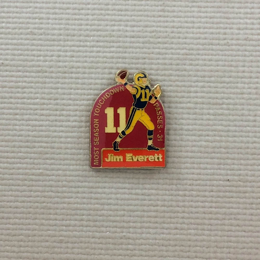 Los Angeles Rams Jim Everett Pin