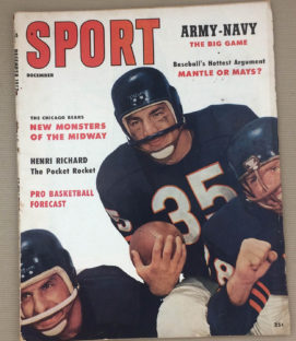 Pro Football All-Stars Magazine 1957
