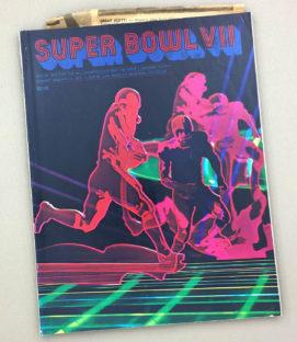 Super Bowl VII 1973 Program