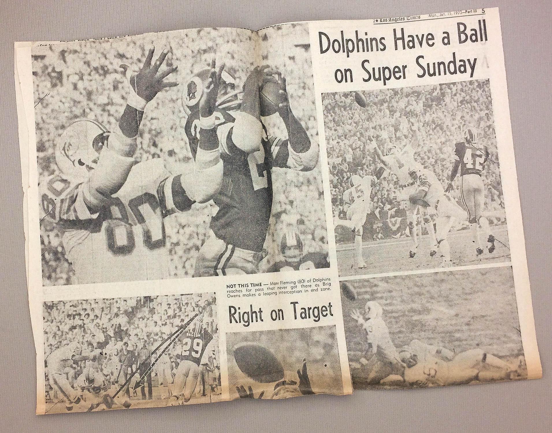 Miami Dolphins 1973 Super Bowl VII