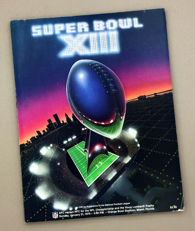 Super Bowl XIII 1979 Game Program