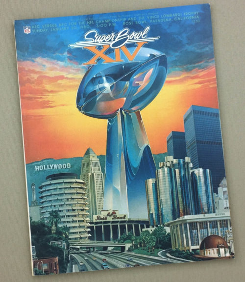 Super Bowl XIV 1980 Game Program