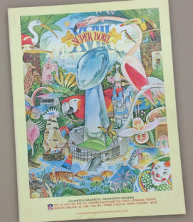 Super Bowl XVIII 1984 Program