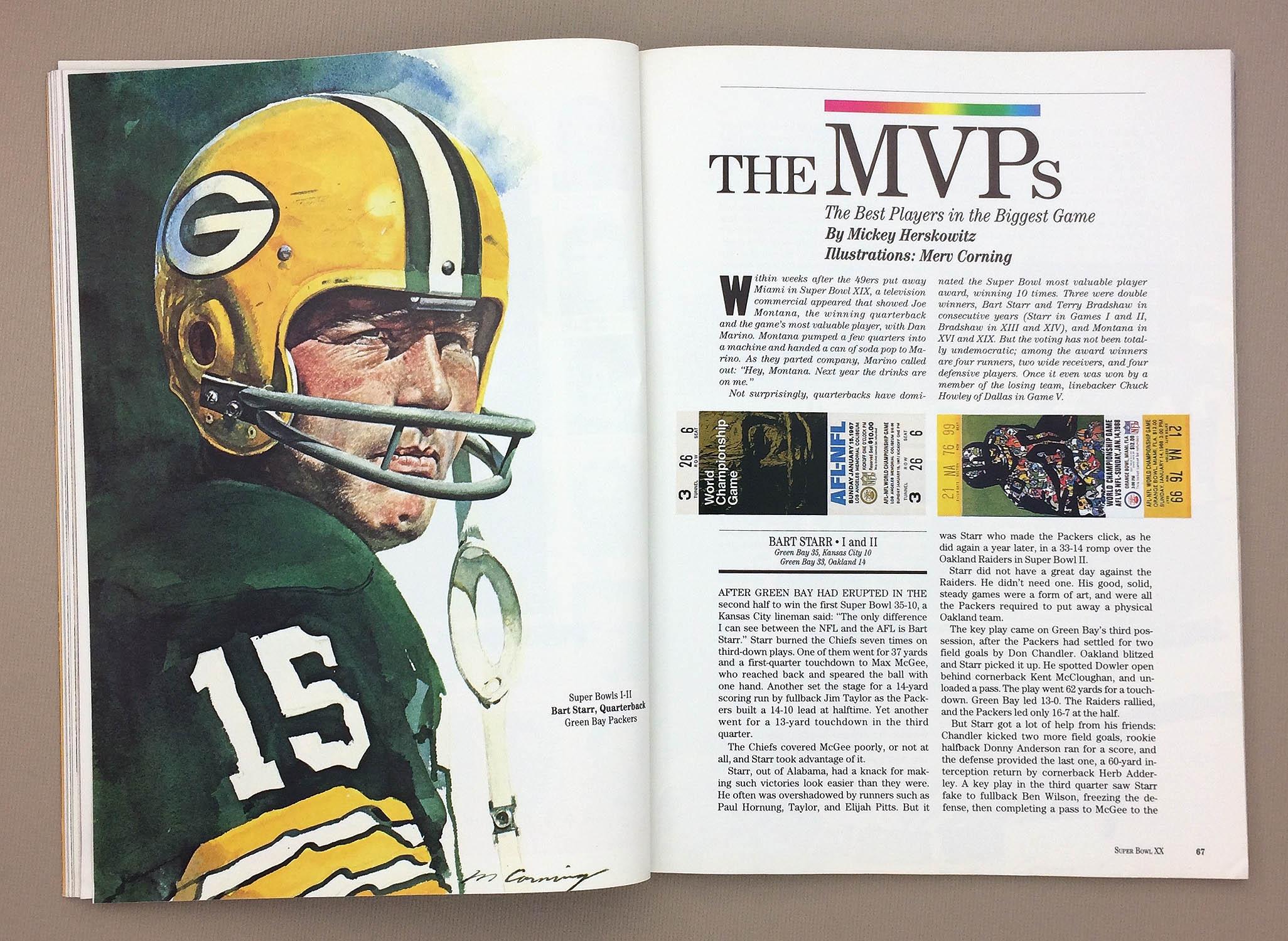 Super Bowl MVP Bart Starr
