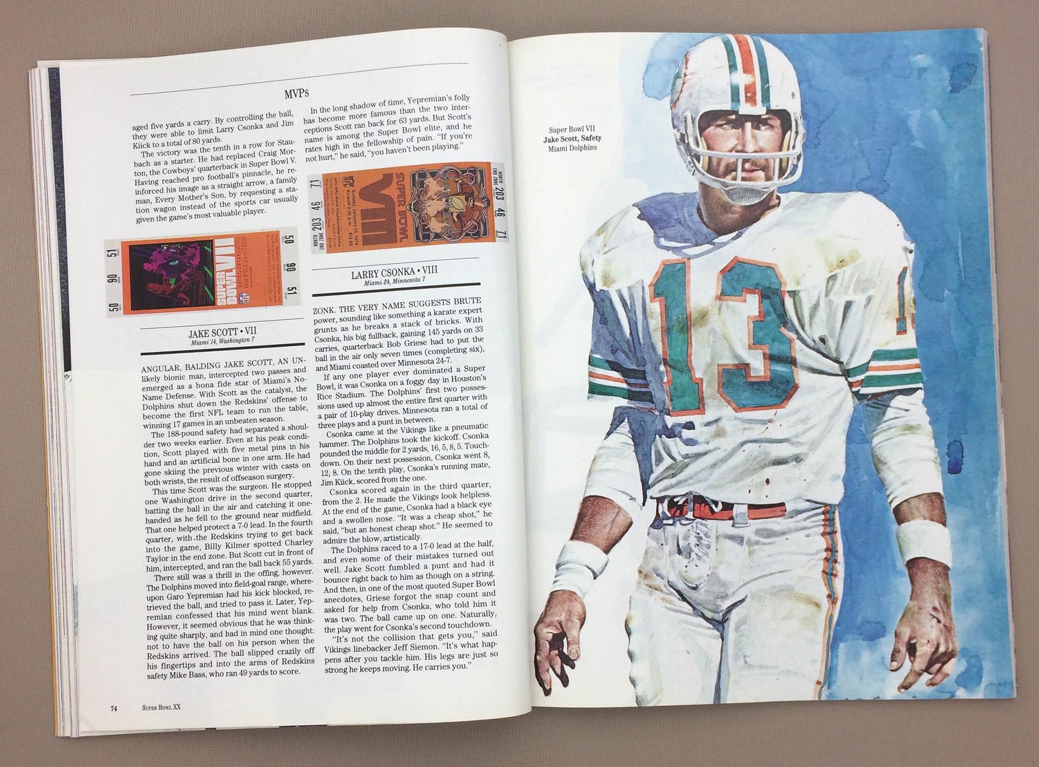Super Bowl MVP Jake Scott