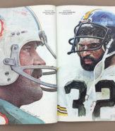 Super Bowl MVP Larry Csonka, Franco Harris