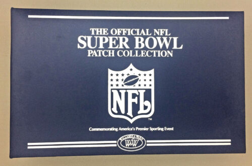 Official NFL Super Bowl Patch Collection