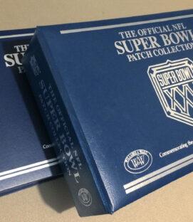 Official NFL Super Bowl Patch Collection