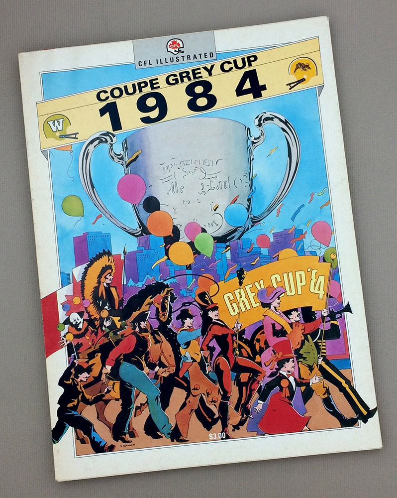 1984 Grey Cup Game Program