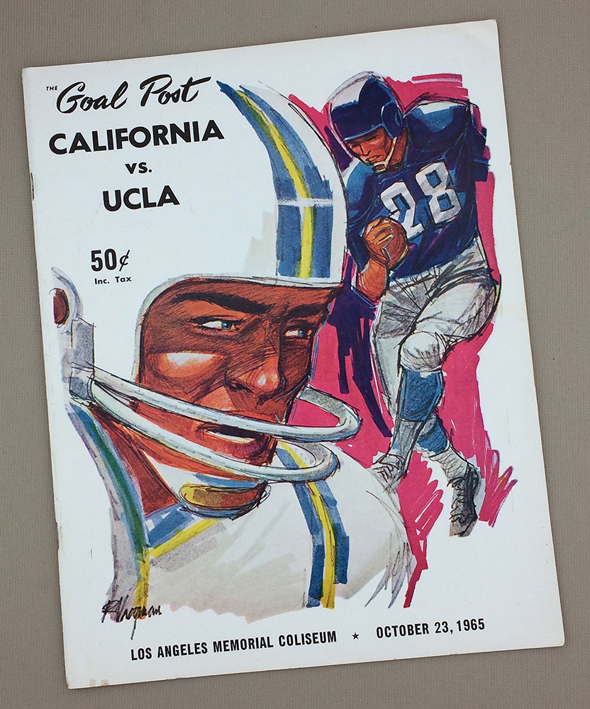 UCLA vs CAL 1965 Program