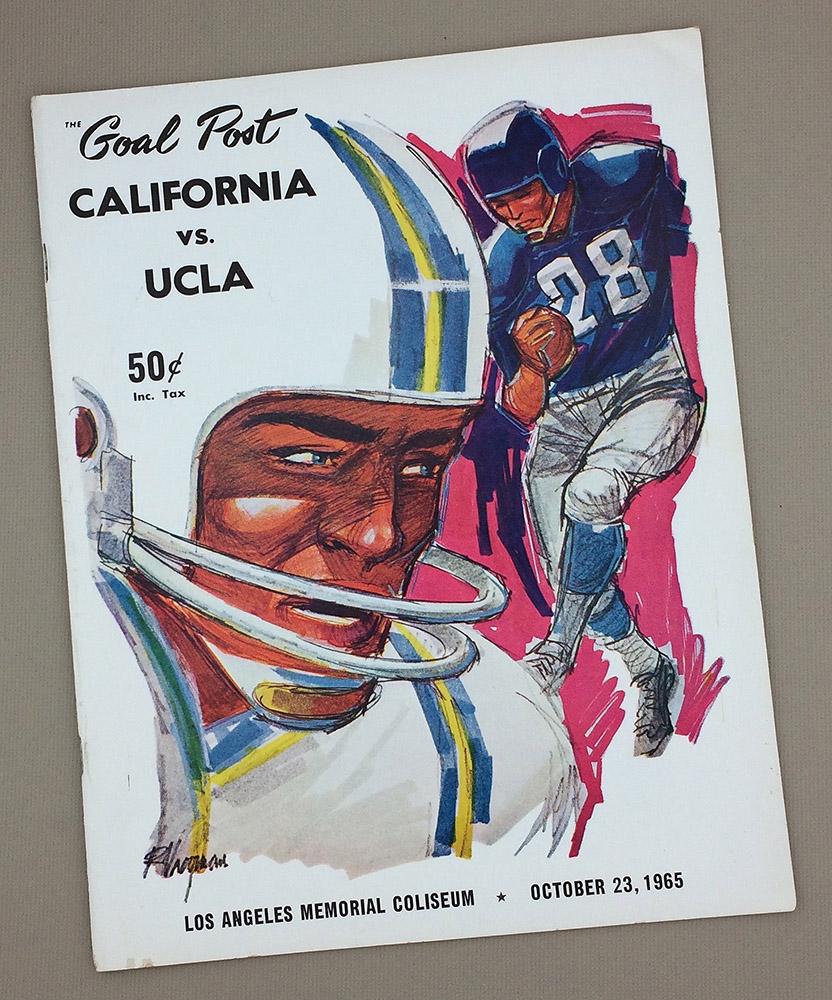 UCLA vs CAL 1965 Program
