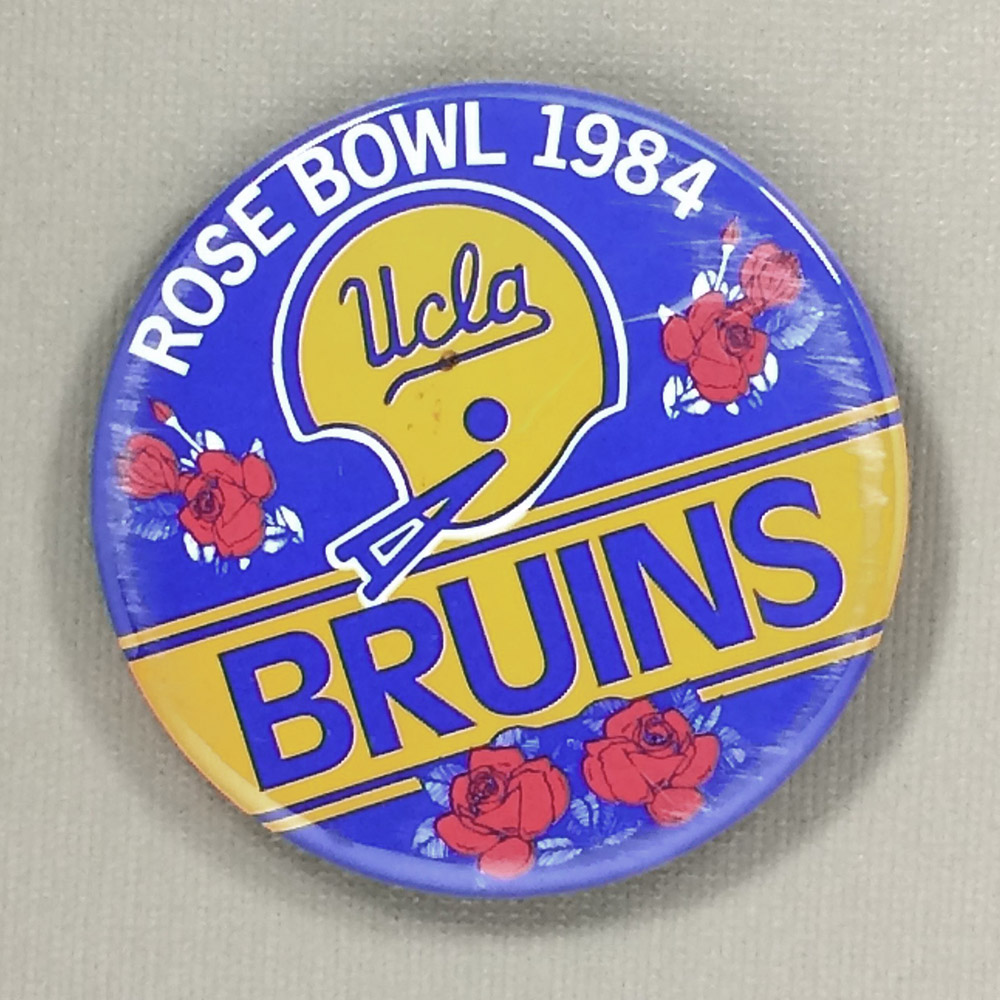 1984 UCLA Bruins Rose Bowl Button