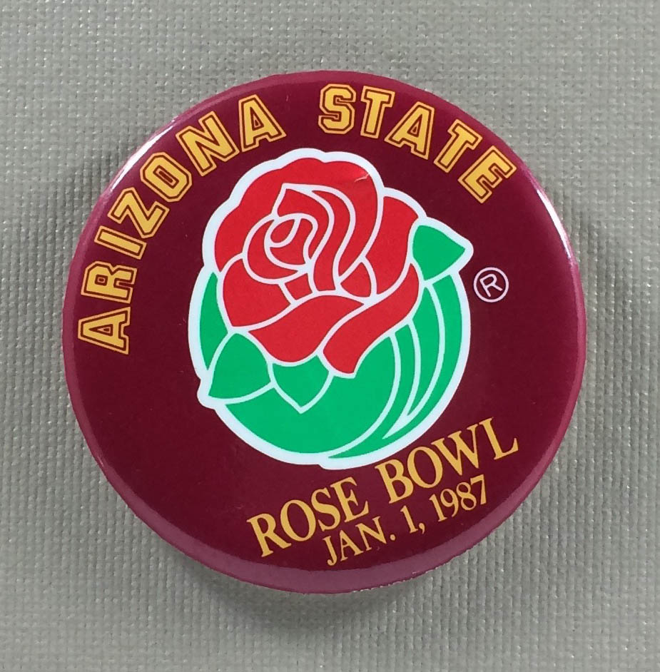 Arizona State 1987 Rose Bowl Button