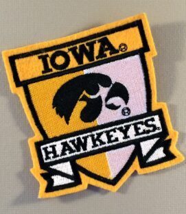 Iowa Hawkeyes Patch