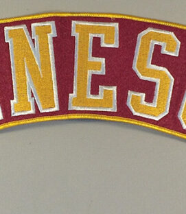 Minnesota Golden Gophers Embroidered Patch