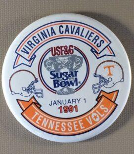 Sugar Bowl 1991 Button