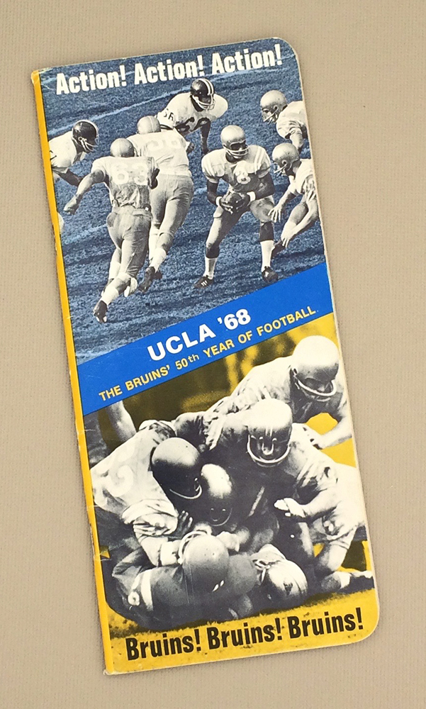 UCLA Bruins Football 1968 Media Guide