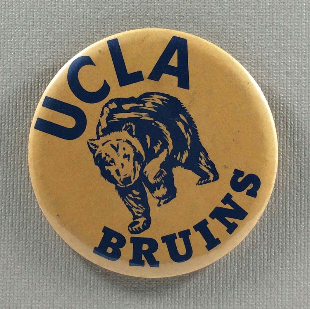 UCLA Bruins 1970s Button