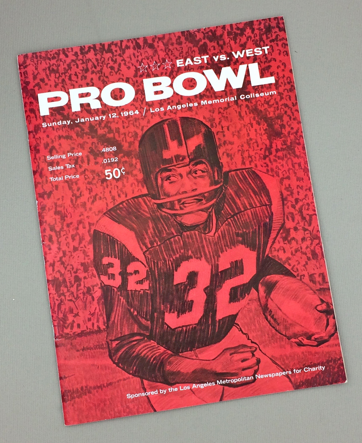 1963 Pro Bowl Game Program