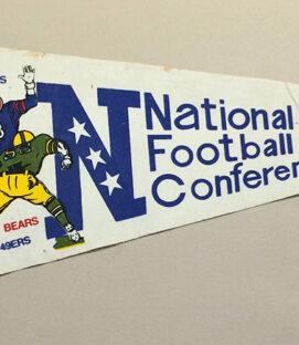 1970's Pro Bowl NFC Team Pennant