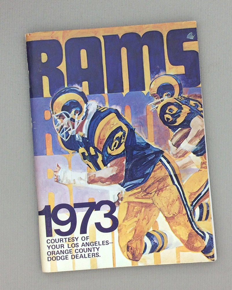Los Angeles Rams 1973 Media Guide