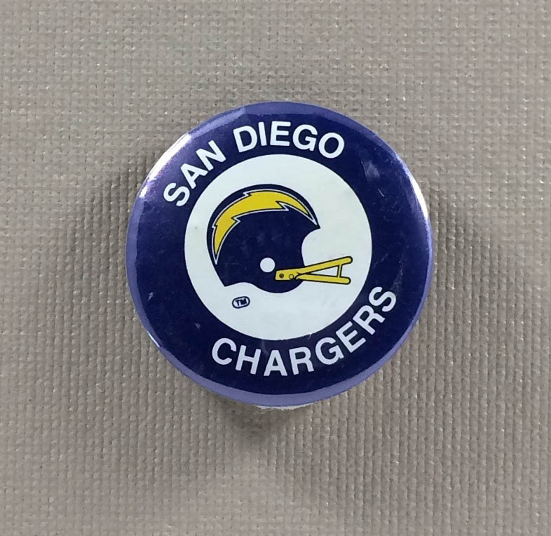 San Diego Chargers Micro-button