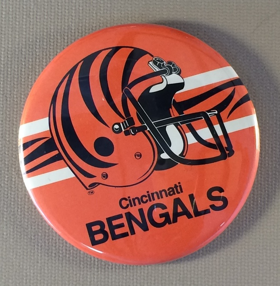 Cincinnati Bengals Team Button