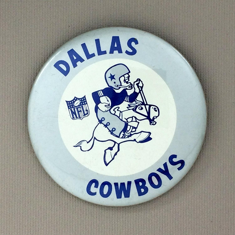 Dallas Cowboys Team Button