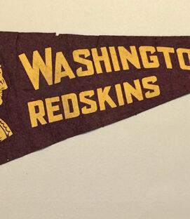 1940s Washington Football Team Felt Pennant