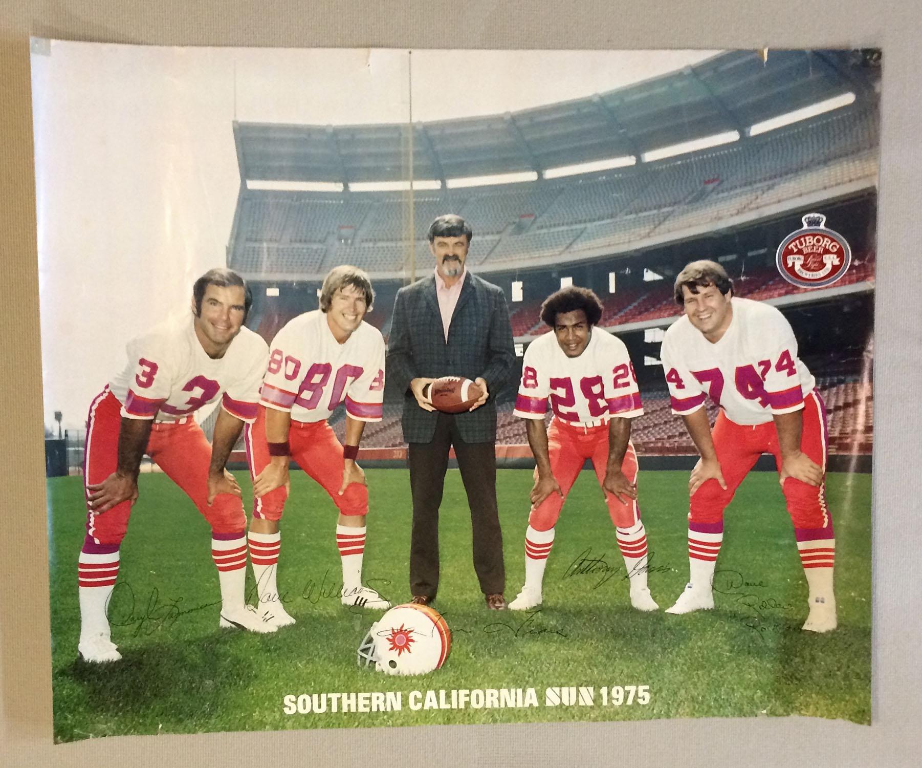 California Sun 1975 Poster