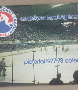 American Hockey League (AHL) 1977-78 Calendar