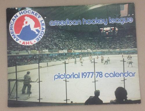 American Hockey League (AHL) 1977-78 Calendar