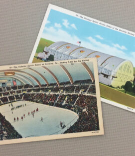 Hershey Sports Arena Vintage Postcard Set