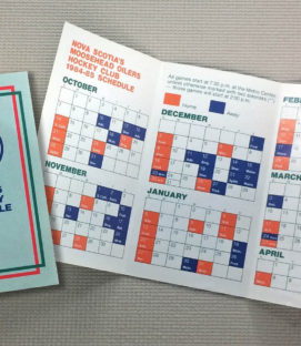 Nova Scotia Oilers 1990-91 Schedule