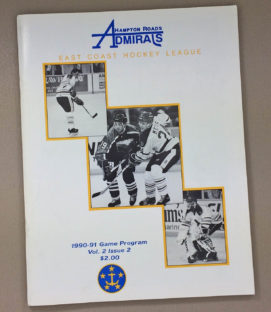 Hampton Roads Admirals 1990-91 Program