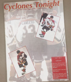 Cincinnati Cyclones 1996-97 IHL Program