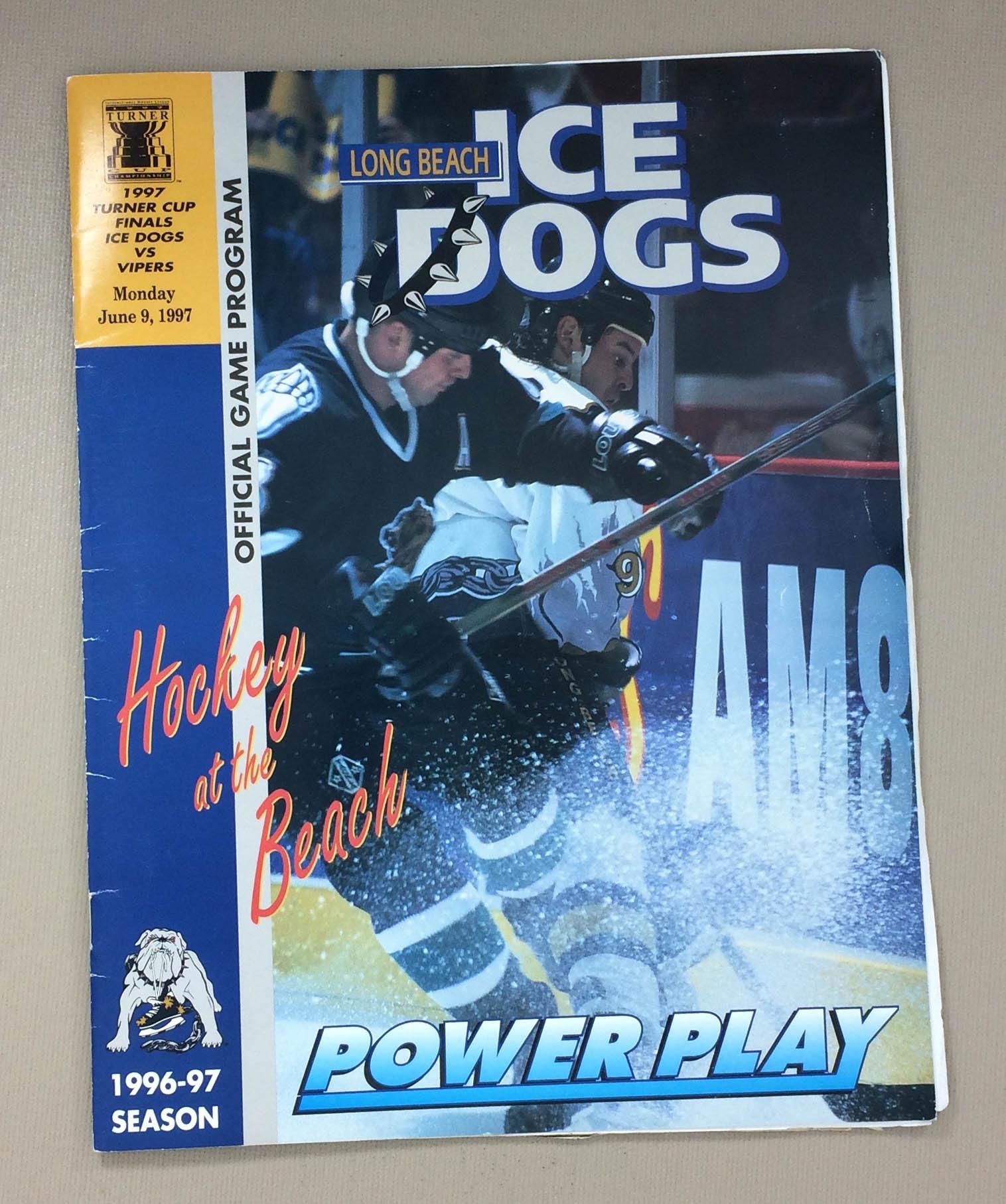 1994-95 IHL Finals Program